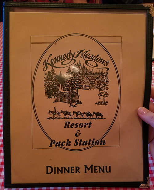 Kennedy Meadows Restaurant